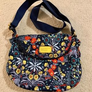 Marc By Marc Jacobs Blue Floral Crossbody
